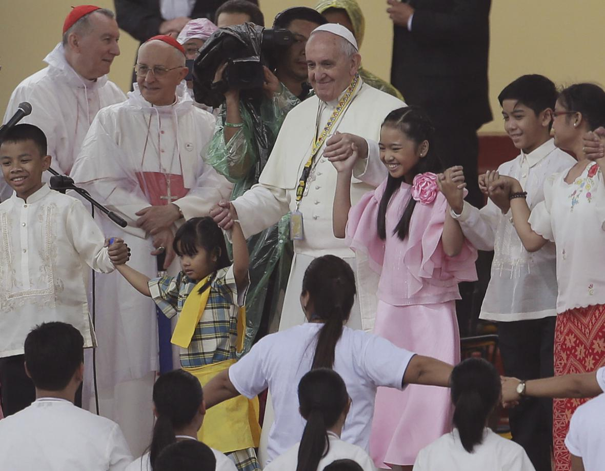 František na Filipínách