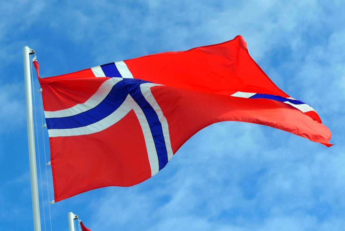 Norská vlajka