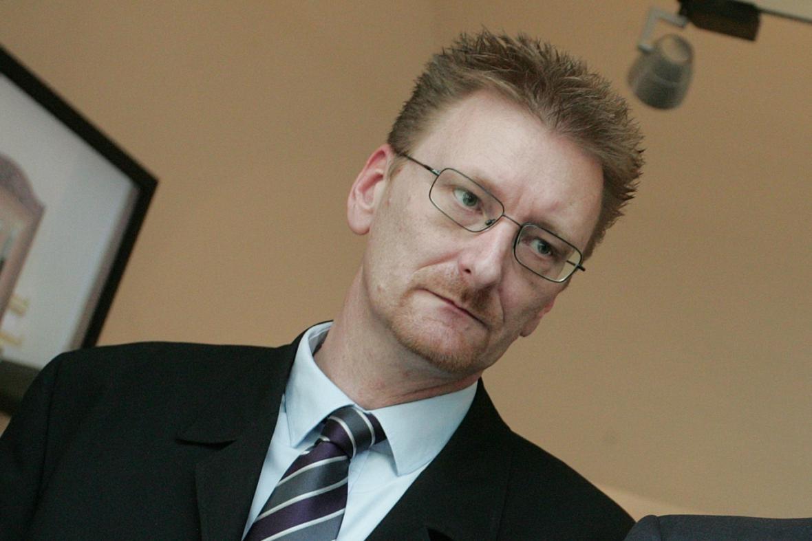 Předseda poslaneckého klubu Úsvitu Marek Černoch