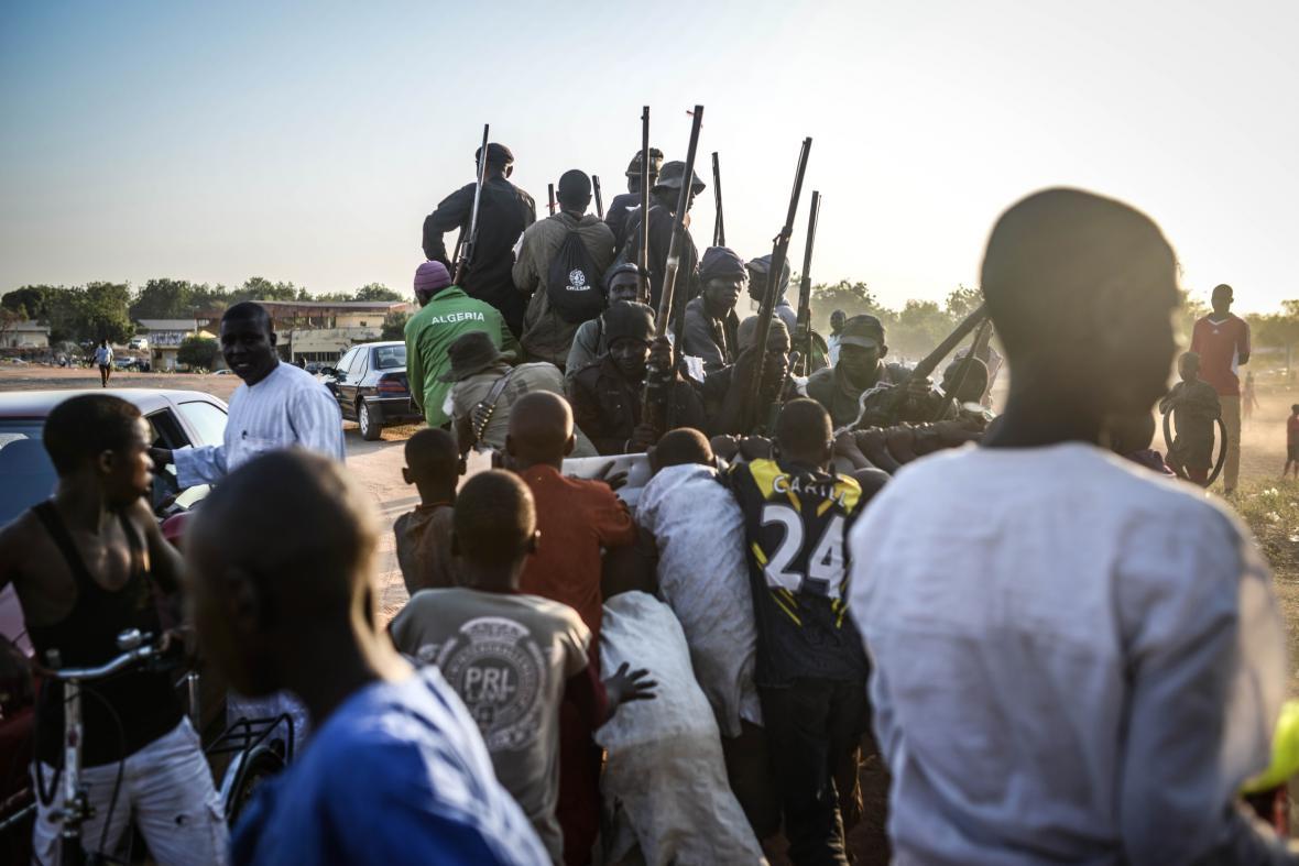 Nigerijci bojují proti hnutí Boko Haram
