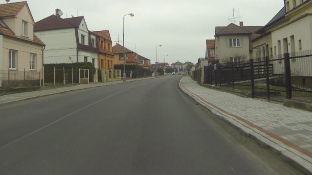Průjezd vilovou čtvrtí v Soběslavi