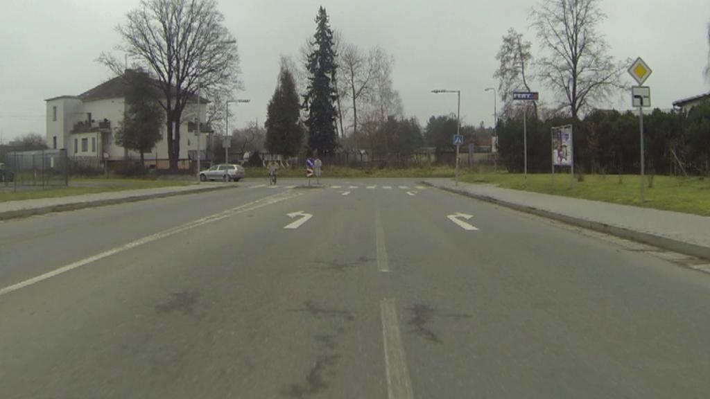 V Soběslavi řidič vjíždí do vilové čtvrti