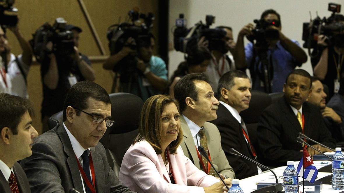 Kubánsko-americké rozhovory v Havaně