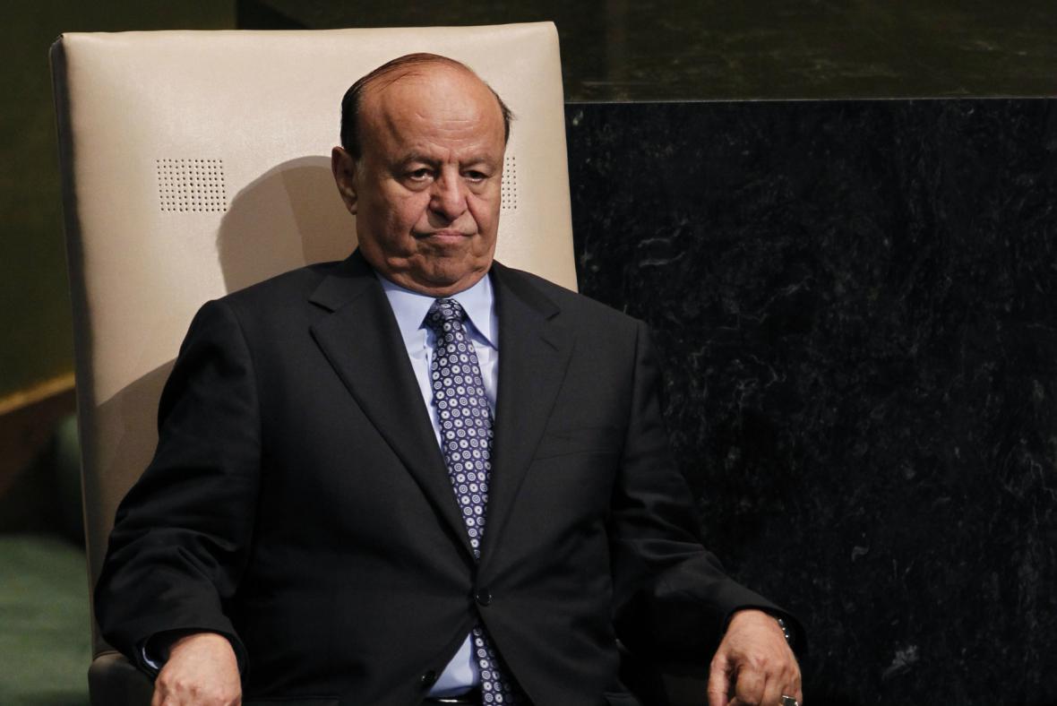 Jemenský prezident Abdar Rabbú Mansúr Hadí