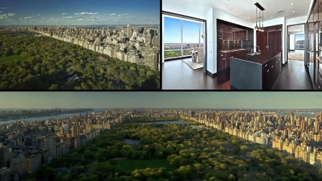 Luxusní byt v newyorském mrakodrapu One57