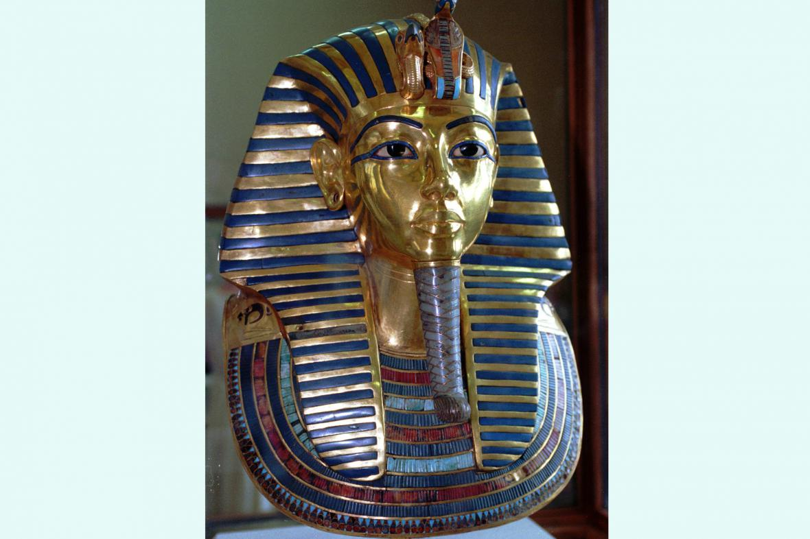 Pohřební maska faraona Tutanchamona