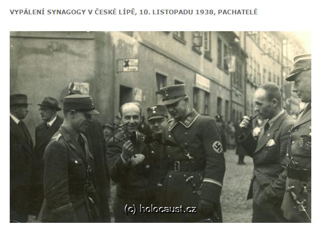 Ti, kteří stáli za vypálením synagogy v České Lípě