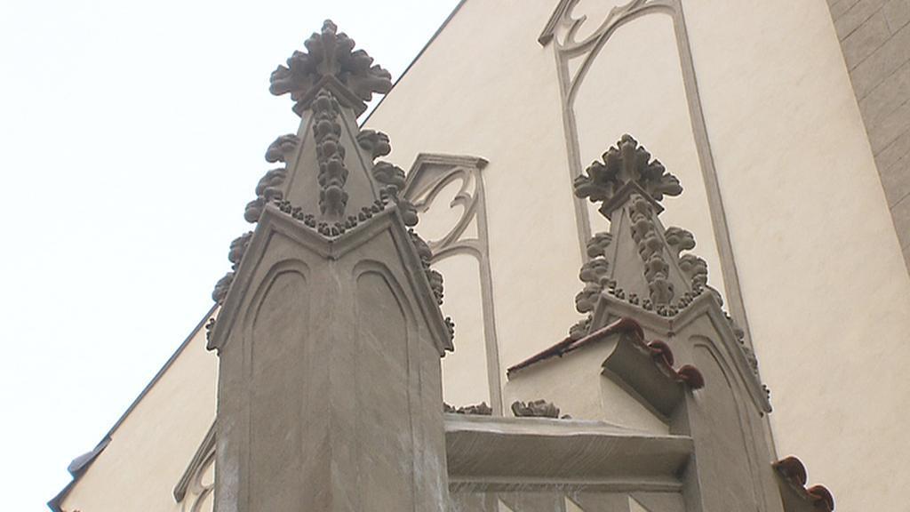 Fiály na Maiselově synagoze