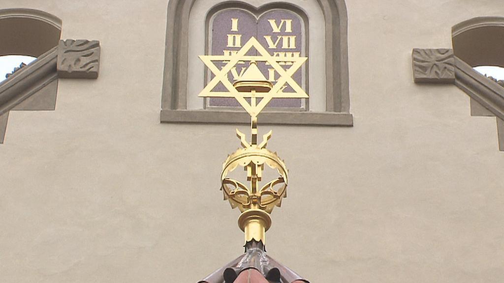 Výzdoba synagogy