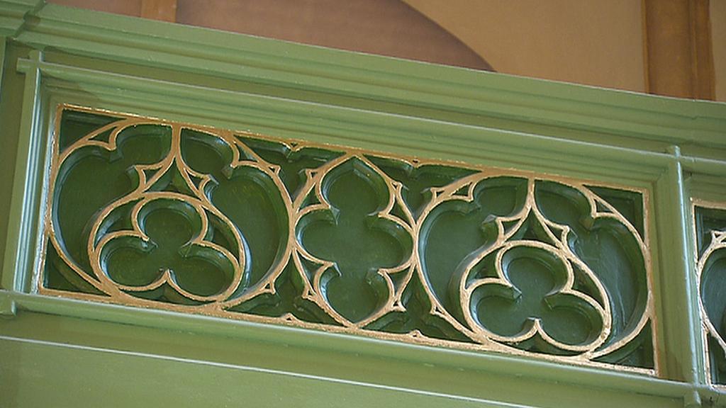 Detail výzdoby Maiselovy synagogy