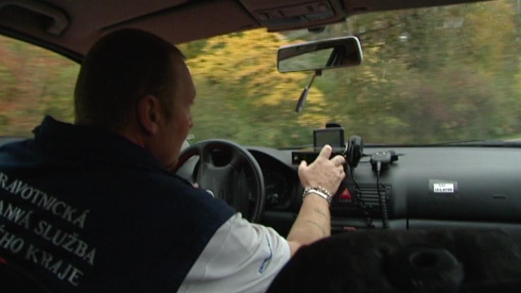 Řidič ZZS Plzeňského kraje