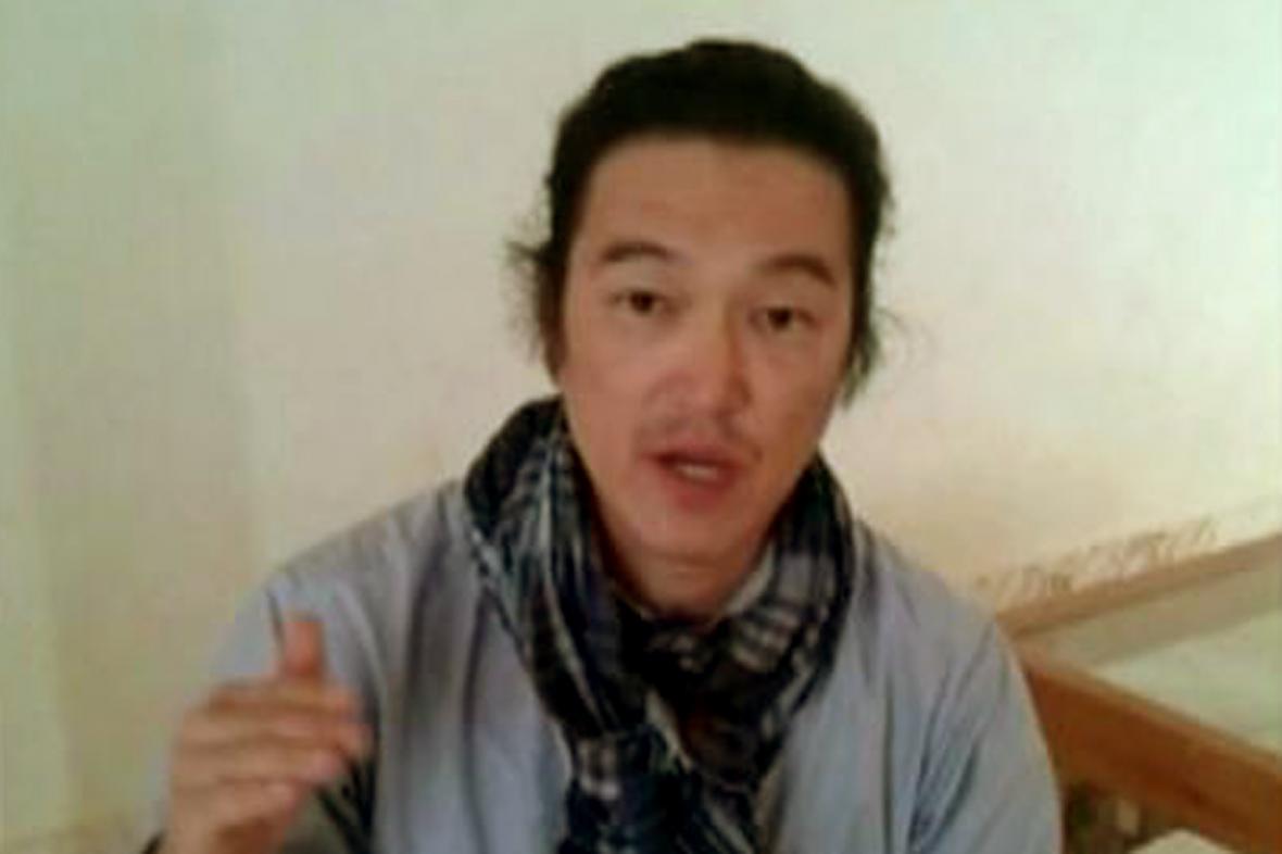 Japonský novinář Kendži Goto