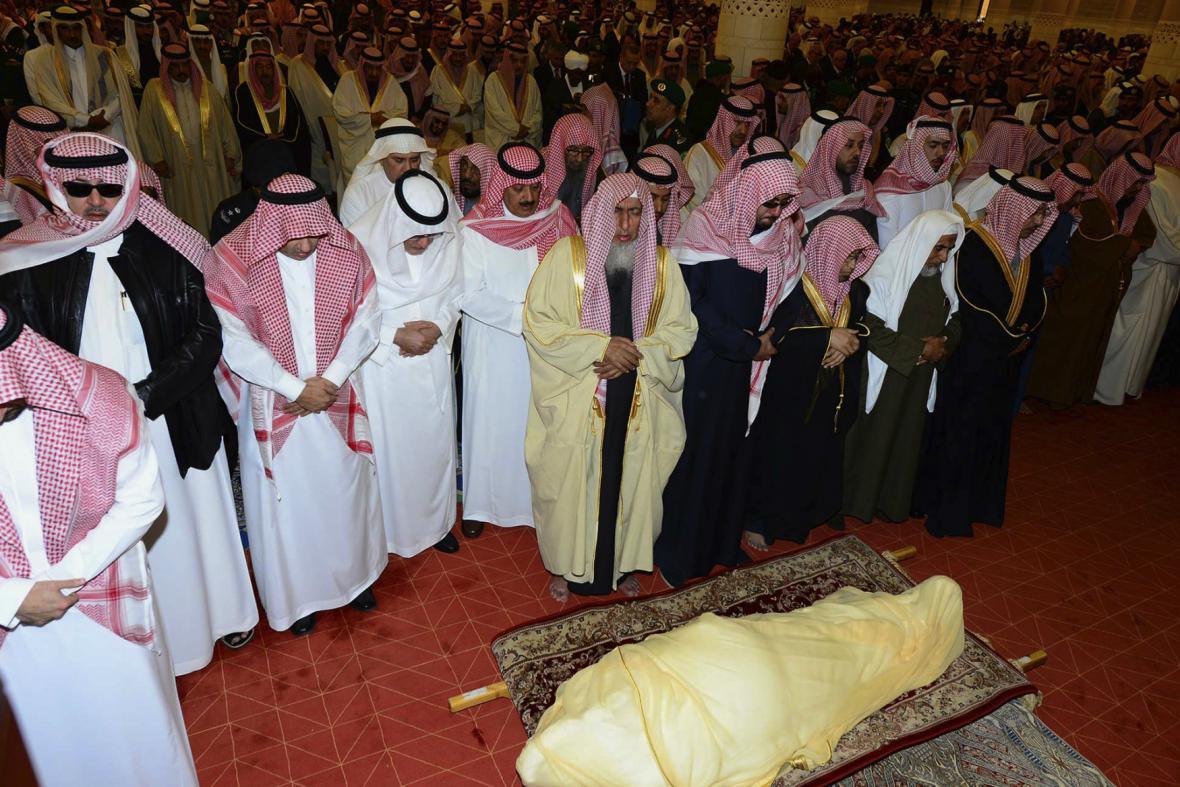 Pohřeb krále Abdalláha