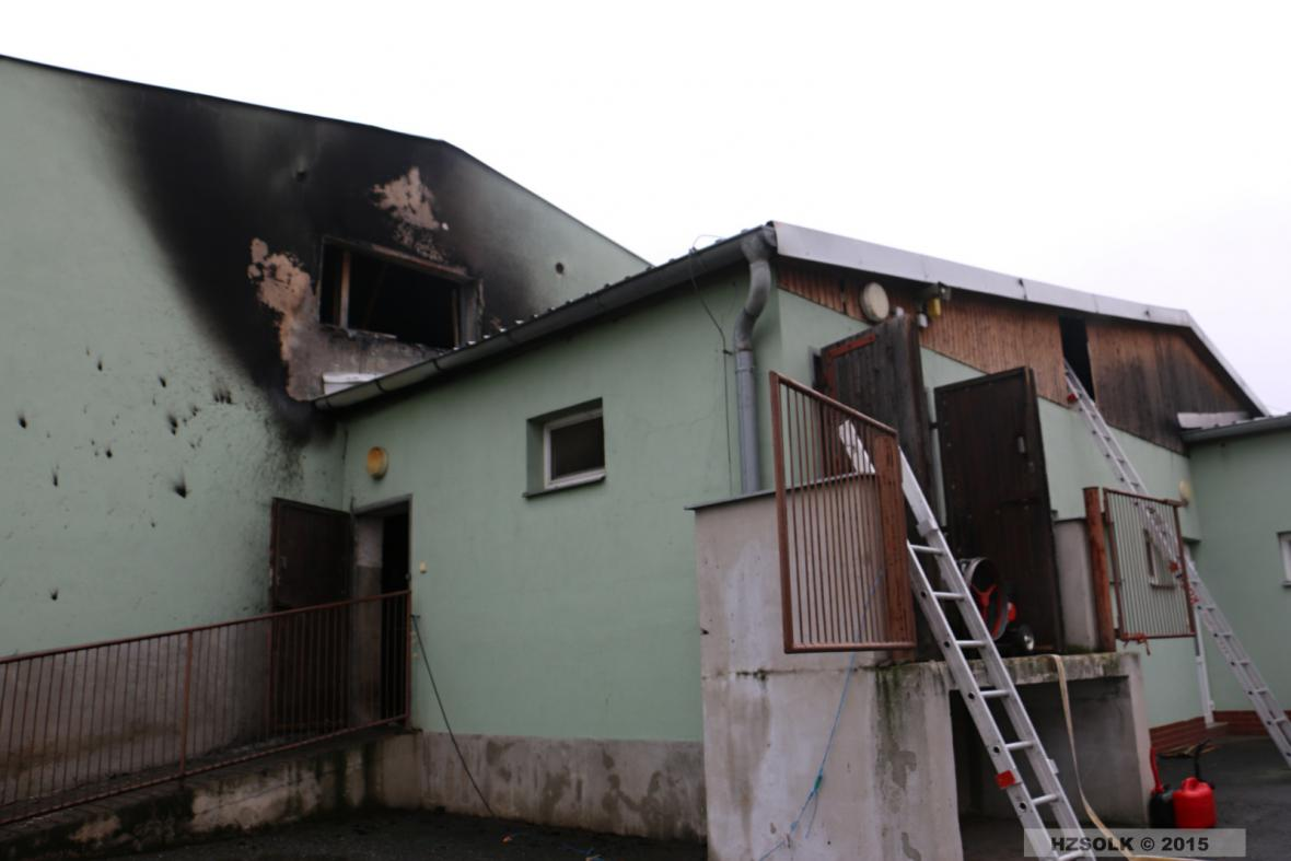 Požár v Kojetíně
