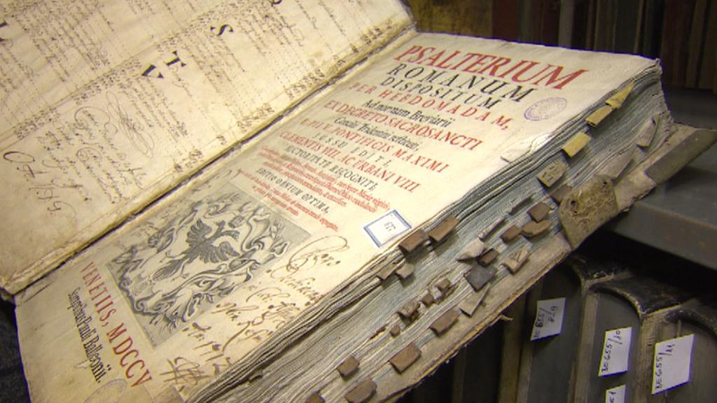 Liturgické svazky v Jihočeské knihovně