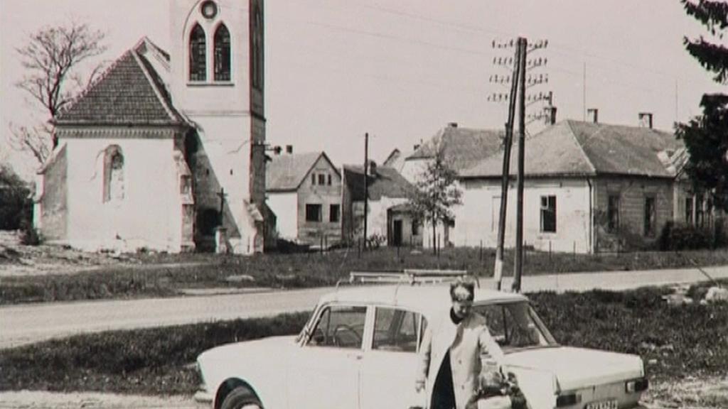Obec Mušov na historické fotografii