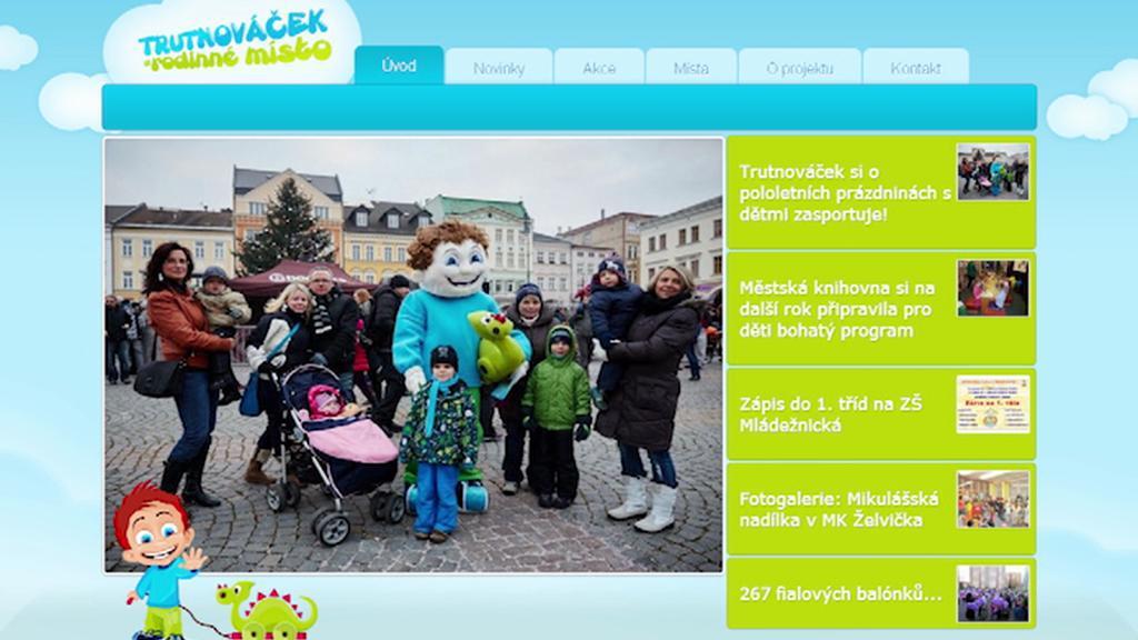 Webový projekt Trutnováček