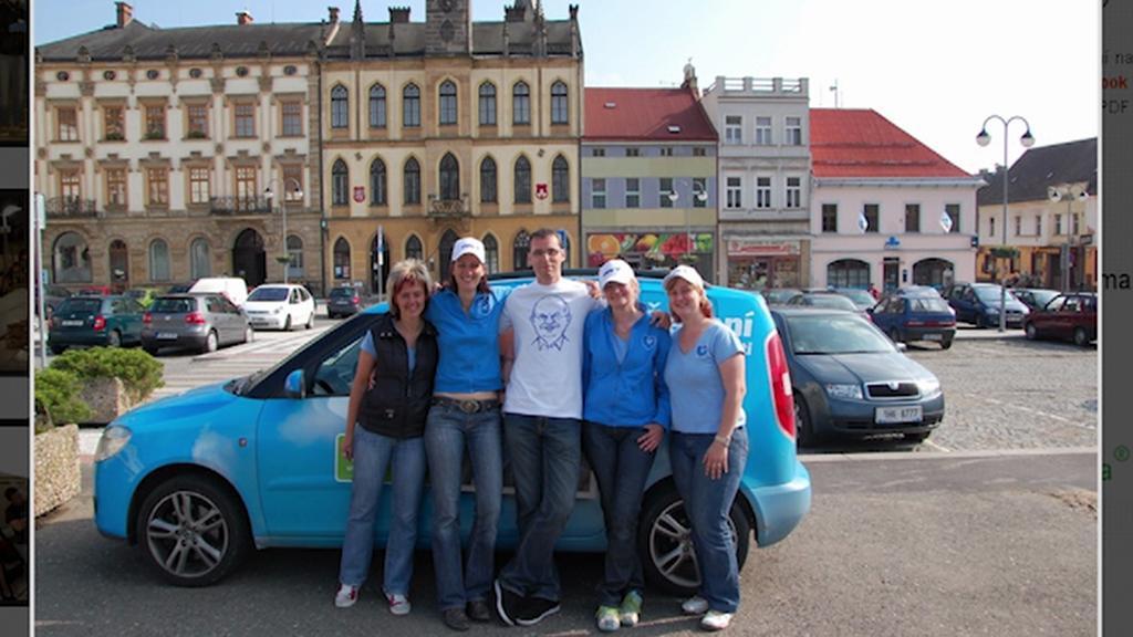 Agentura při kampani ODS v roce 2010