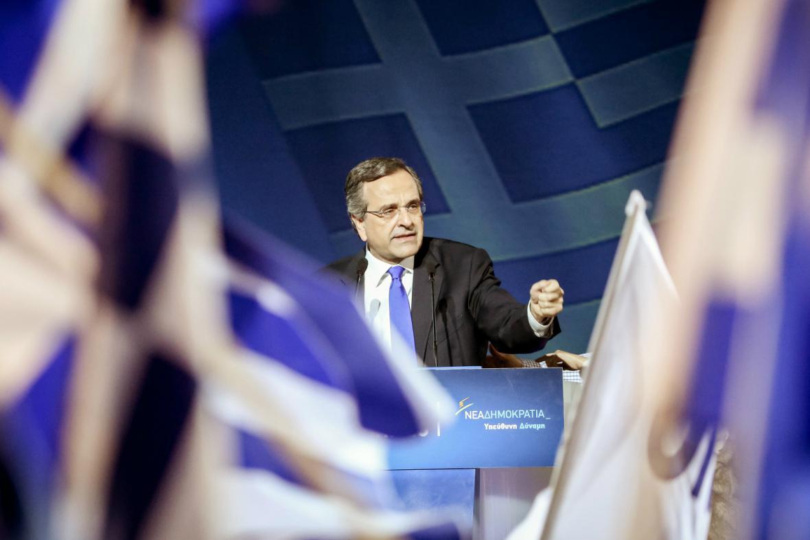 Řecký premiér Antonis Samaras