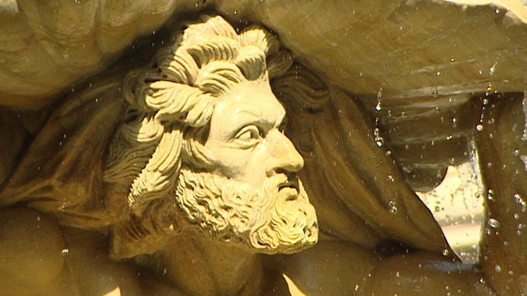 Kopie sochy v Grébovce