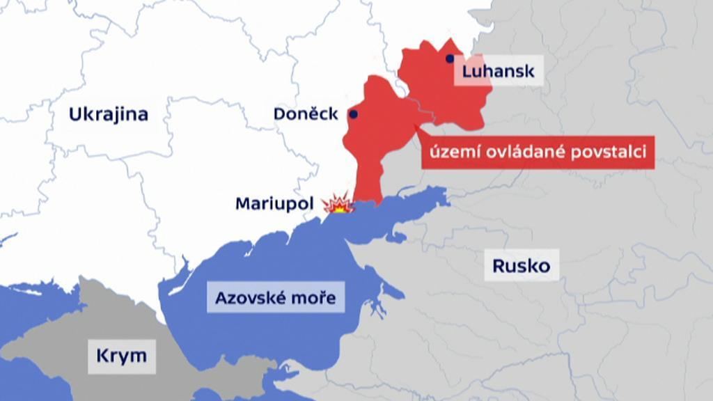 Na východě Ukrajiny opět došlo k vyostření bojů