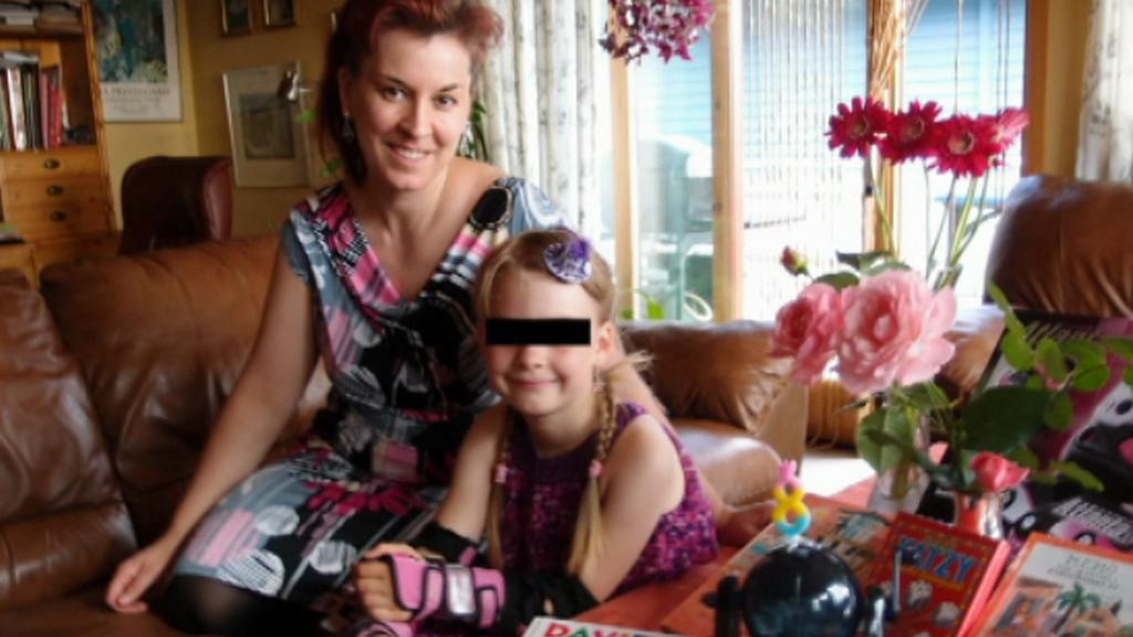 Daniela Lode a její dcera