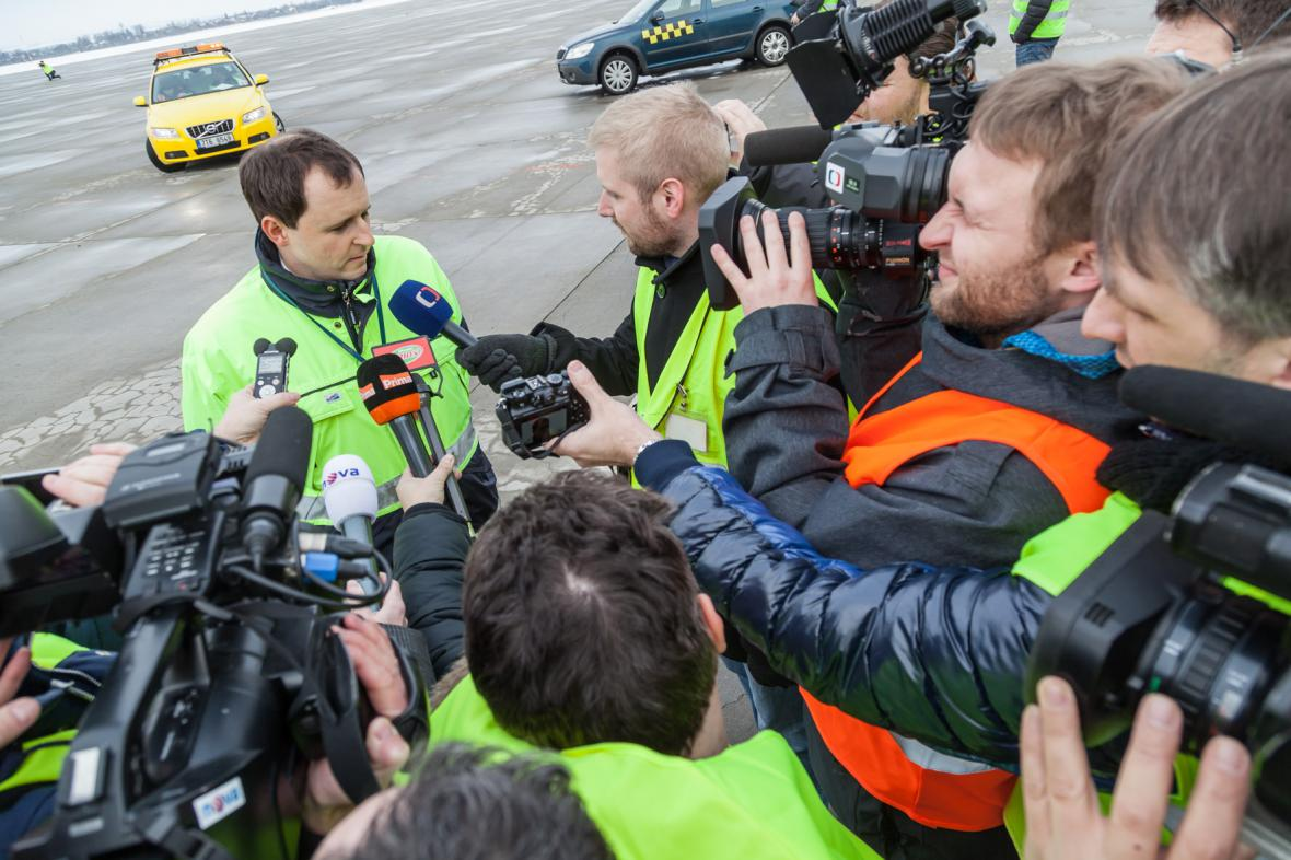 Michal Holubec, provozní ředitel mošnovského letiště