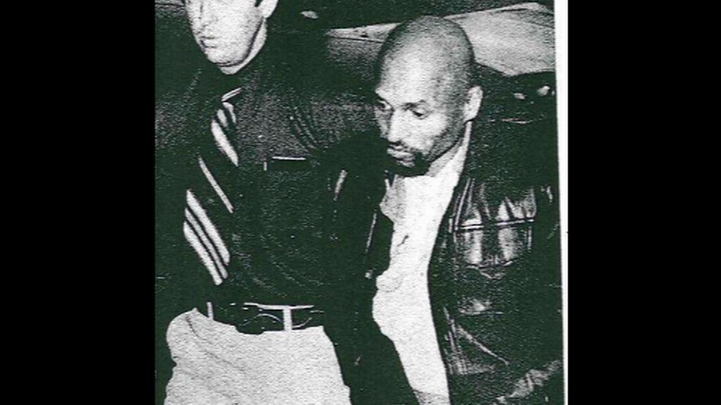 Joseph Sledge na cestě do vězení
