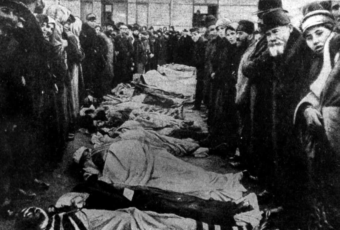 Pogrom v polském Bialystoku 1905