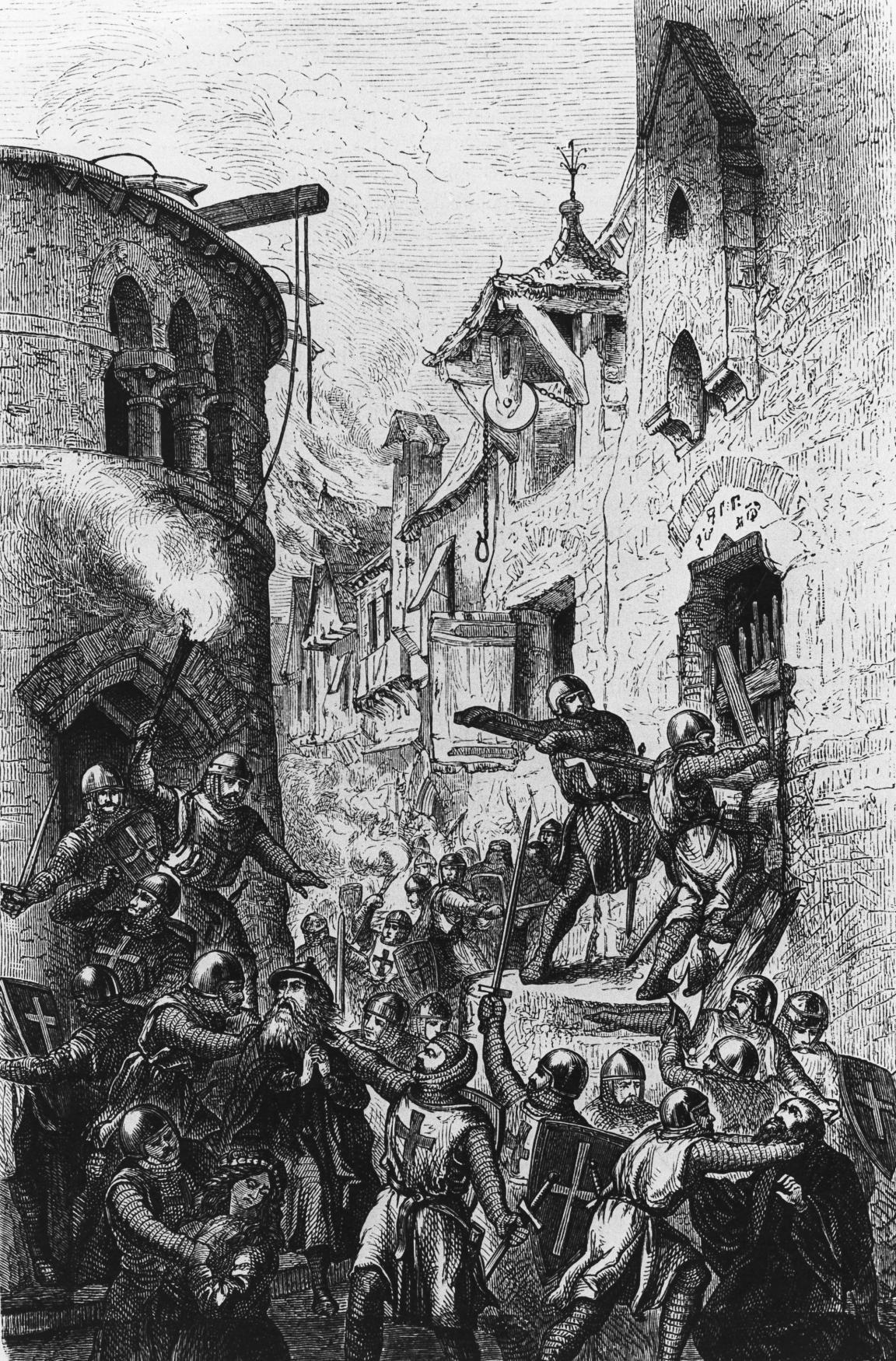 Středověký pogrom