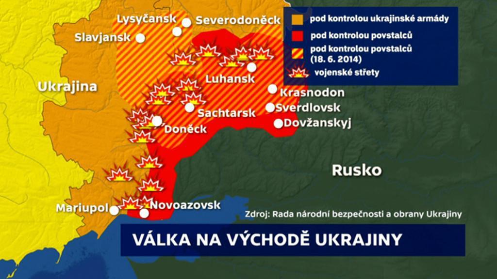 Válka na východě Ukrajiny