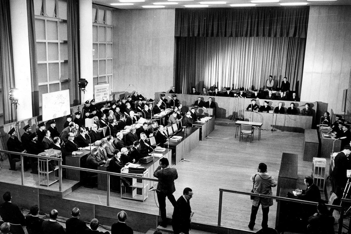 Osvětimský proces ve Frankfurtu nad Mohanem