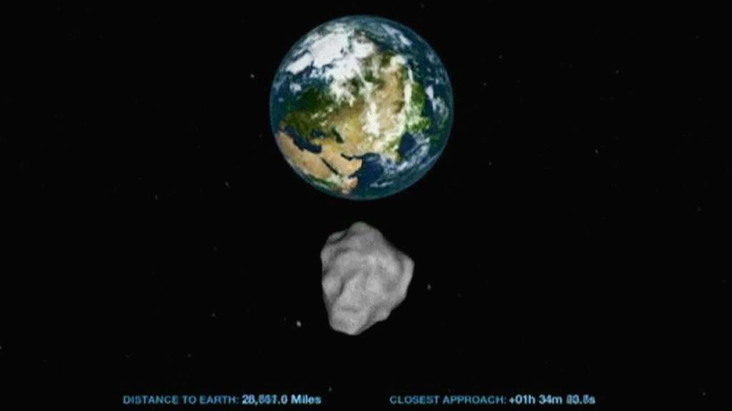 Průlet asteroidu