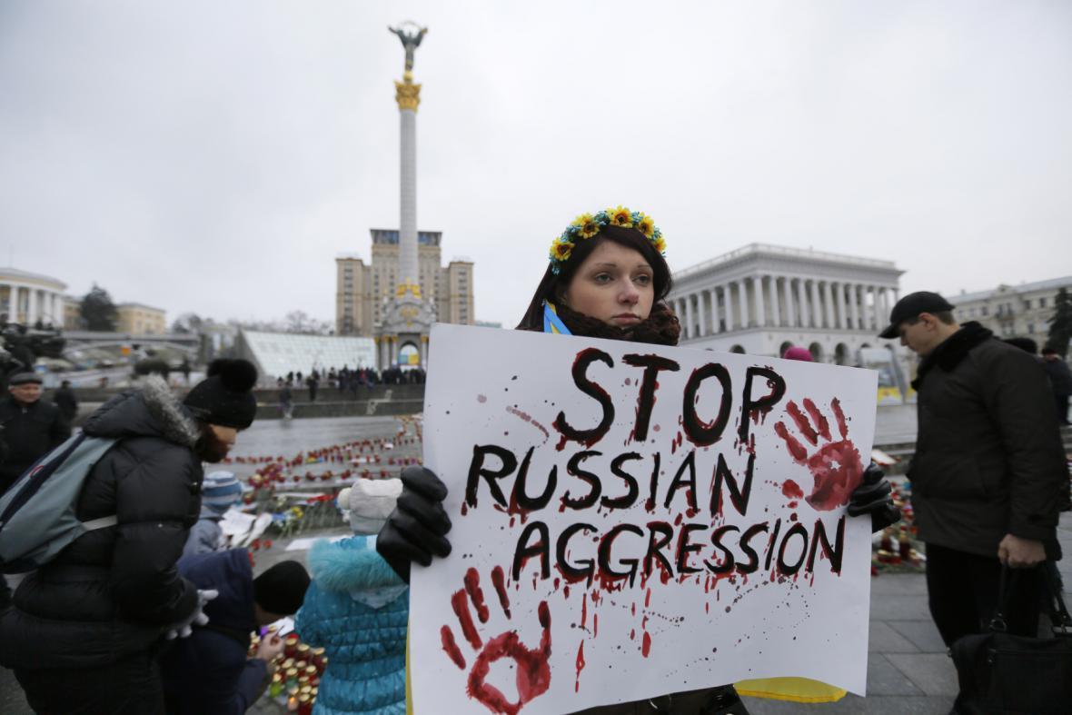 Protest V Kyjevě