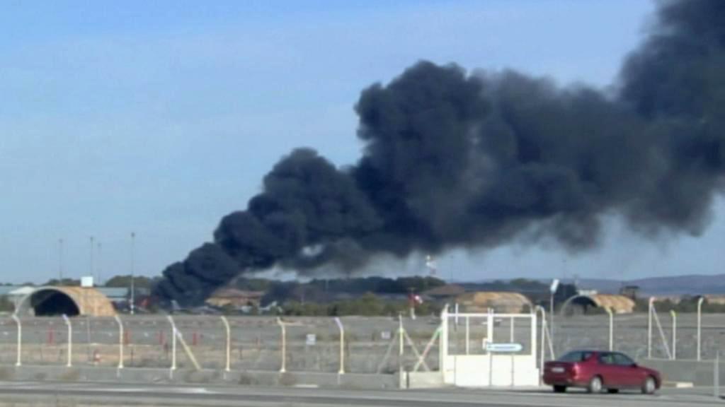 Havárie řecké stíhačky ve Španělsku