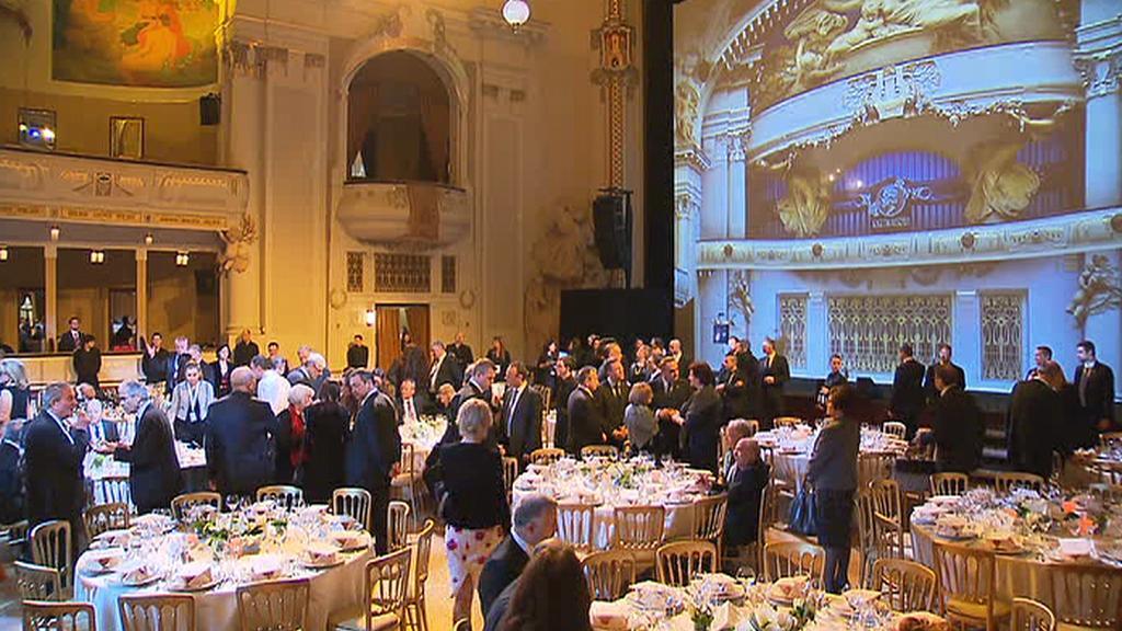 Slavnostní večeře k mezinárodnímu fóru o extremismu