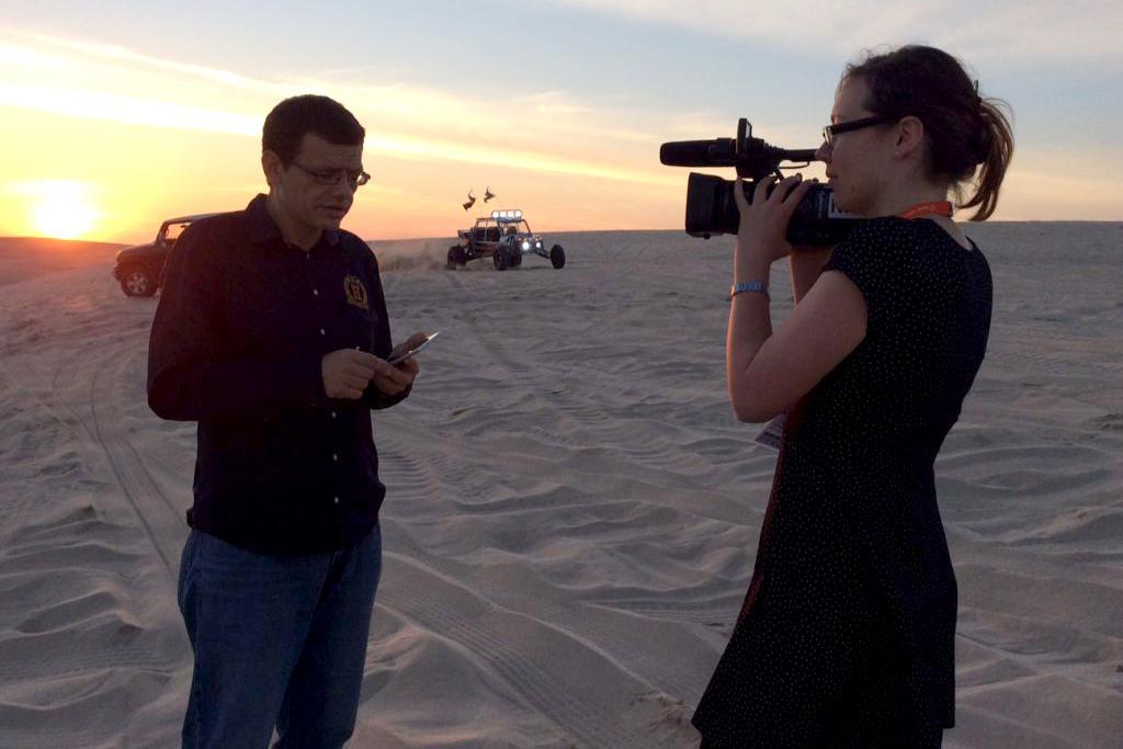 Martin Jaroš při rozhovoru pro web ČT24