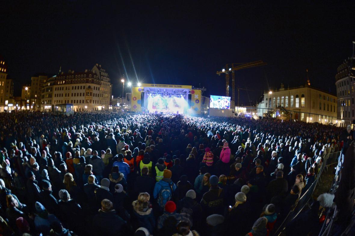 Drážďanský koncert na protest proti Pegidě