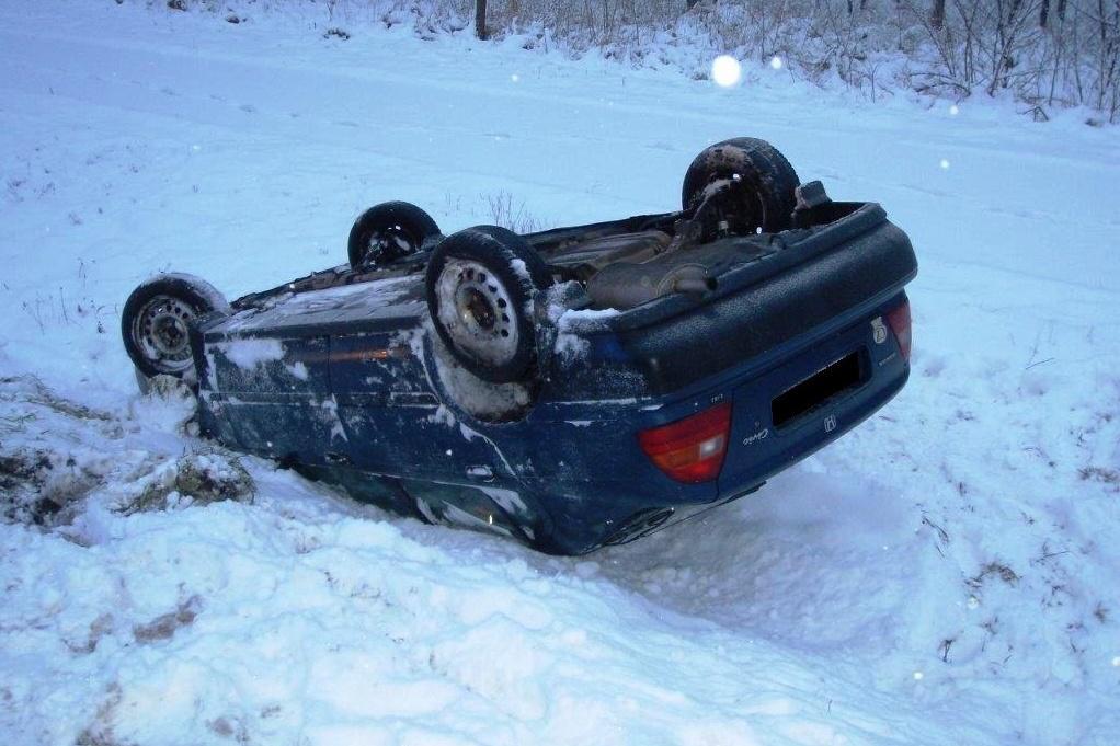 Nehoda v zimě