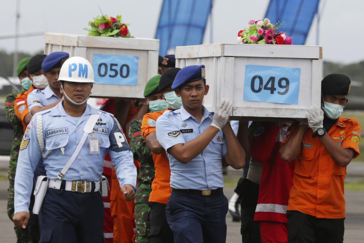 Oběti z letu AirAsia