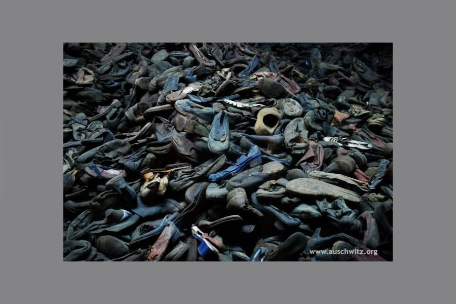 Koncentrační tábor Osvětim - předměty po zemřelých
