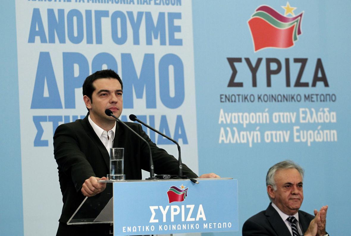Alexis Tsipras a Jannis Dragasakis