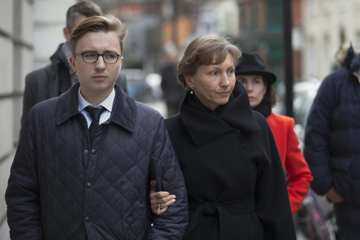 Anatolij a Marina Litviněnkovi