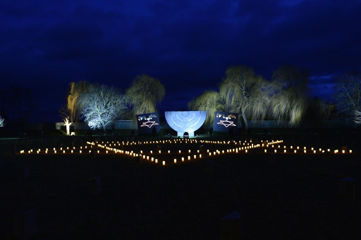 Terezínská pieta za oběti holocaustu