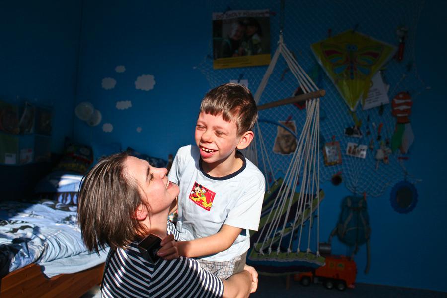 Dítě s Williamsovým syndromem