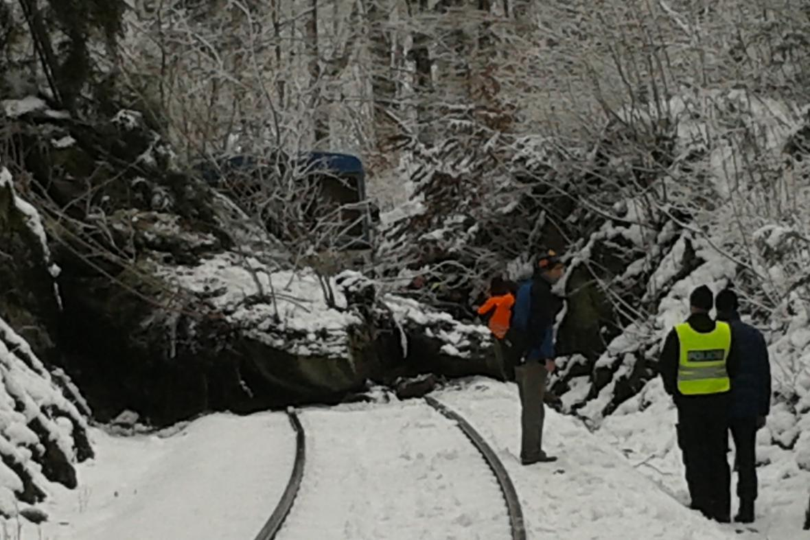 Nehoda vlaku na Semilsku