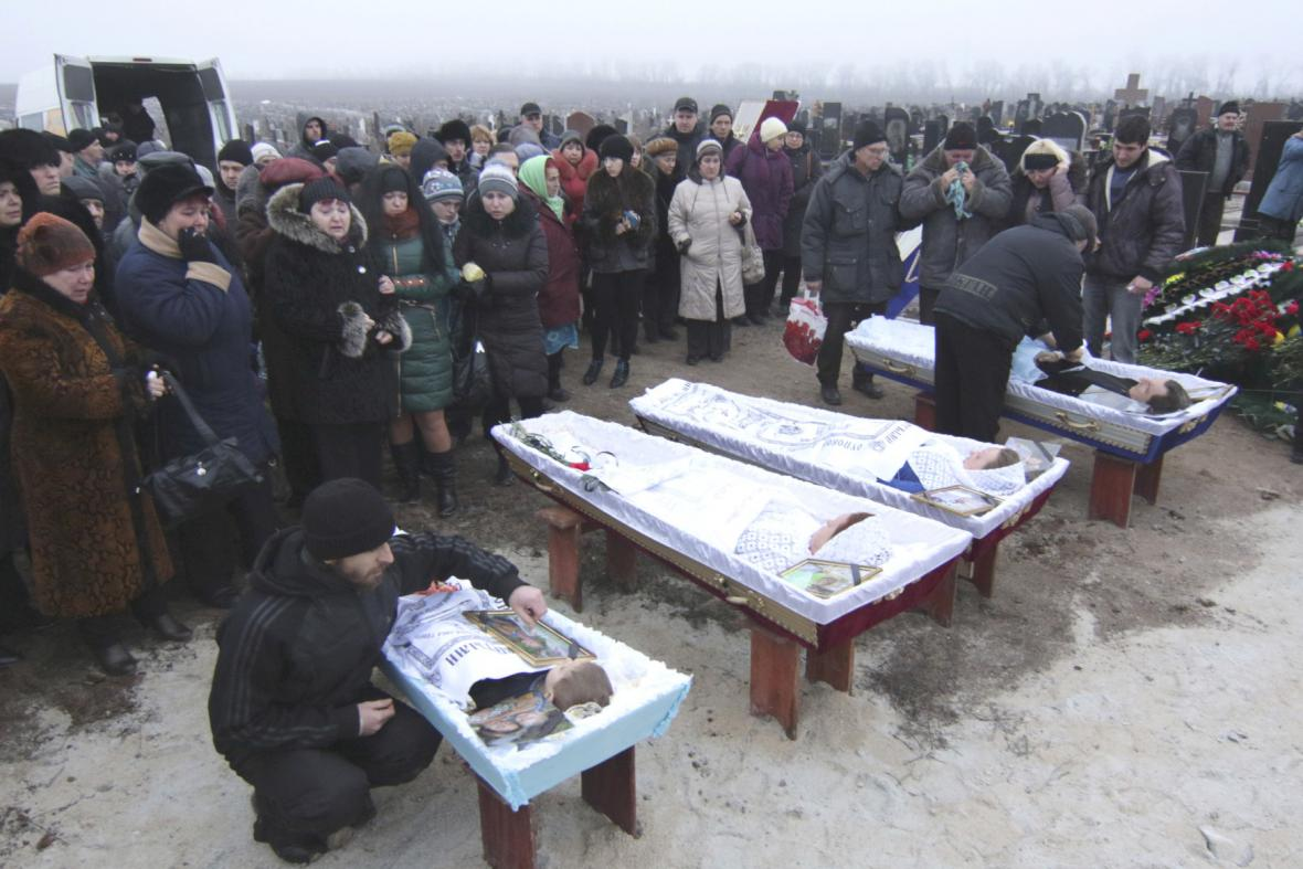 Oběti na Ukrajině