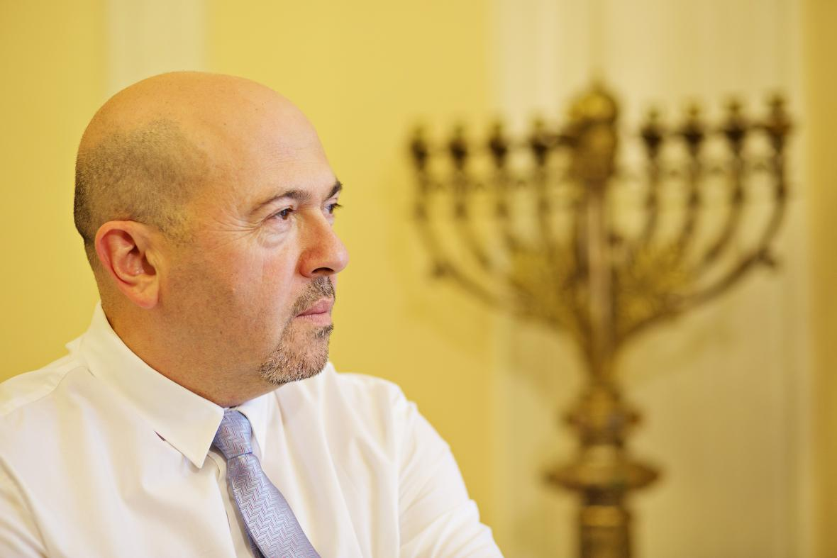 Izraelský velvyslanec v Praze Gary Koren