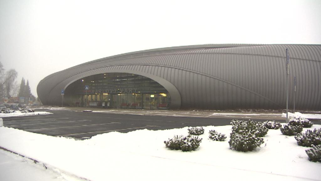 Budova karlovarského letiště