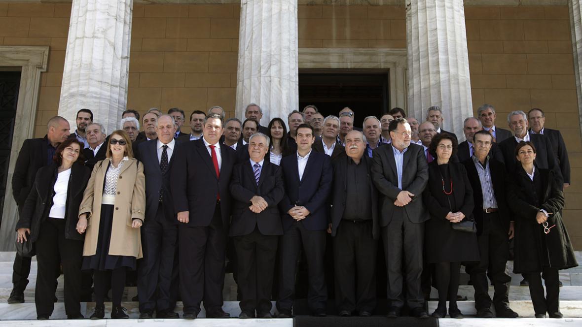 Nová řecká vláda